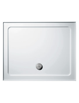 Simplicity 900 x 760mm Low Profile Upstand Tray