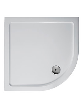 Simplicity 800mm Low Profile Quadrant Flat Top Shower Tray