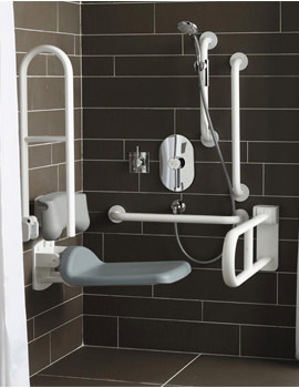 Contour Doc M Shower Pack With White Rails