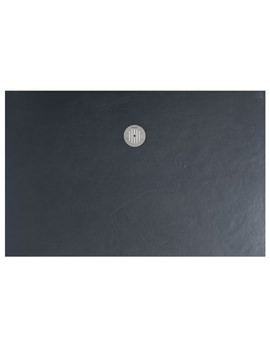 Grey Textured Slate Effect Shower Tray 1500 x 800mm