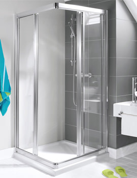 Simpsons Supreme Corner Entry Shower Cubicle 700mm - 7274