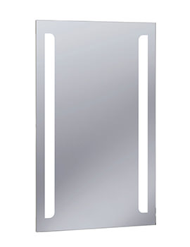 Bauhaus Elite Illuminated LED Back Lit Mirror 500 x 800mm - ME8050B