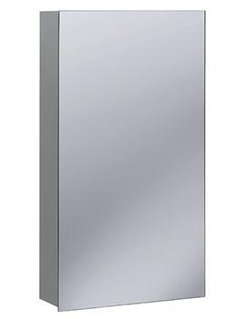 Non-Electric 400 x 720mm Single Door Mirrored Cabinet