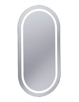 Bauhaus Essence Illuminated LED Back Lit Mirror 400 x 800mm - ME8040A
