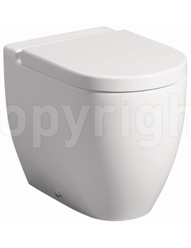 Bauhaus Stream II Back To Wall WC Pan 510mm And Soft Close Seat