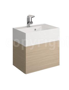 Bauhaus Elite Dune Single Drawer Basin Vanity Unit 500mm