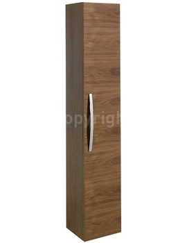 Stream Tower Storage Unit 300 x 1600mm American Walnut