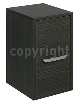 Essence 300mm Single Door Storage Unit Anthracite - ES3035FAN