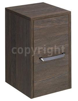 Bauhaus Essence 300mm Single Door Storage Unit Ebony - ES3035FEB