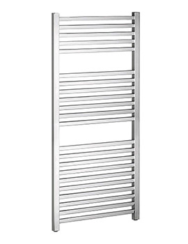 Bauhaus Magnum Chrome Straight Towel Rail 500 x 1110mm - MG50X111C