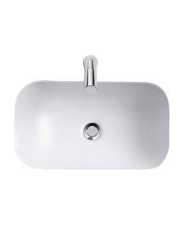 Contour 500mm Under Countertop Basin With Overflow