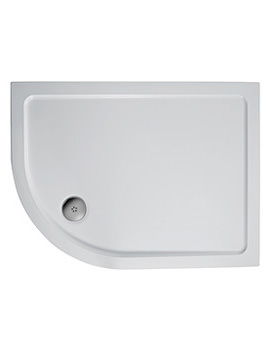 Ideal Standard Simplicity 1200 x 900mm Offset Quadrant Tray Left