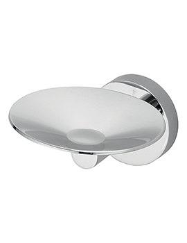 IOM Anti Vandal Soap Dish Chrome