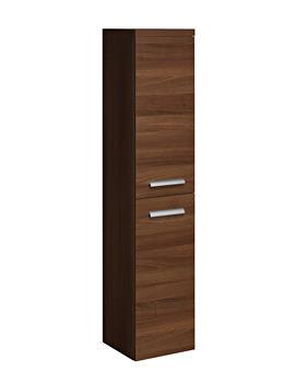 Bauhaus Design 350 x 1636mm Tower Storage Unit Walnut - DE3516FWT