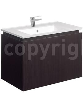 Related Bauhaus Linea 750mm Single Drawer Basin Unit Blackwood