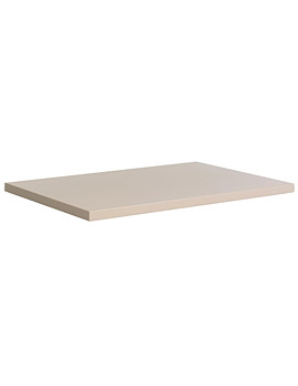 Bauhaus Glide II 708 x 455mm Worktop Calico Gloss - GL7000TCC