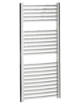 Bauhaus Stream 500 x 110mm Curved Towel Warmer Chrome - ST50X111C