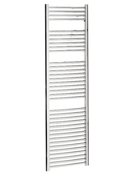 Bauhaus Stream 500 x 1700mm Curved Towel Warmer Chrome - ST50X170C