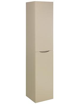 Bauhaus Glide II Wall Hung Tower Unit 1600mm Height Calico Gloss