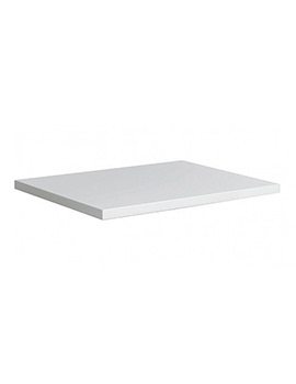 Bauhaus Glide II 508mm White Gloss Worktop - GL5000TWG