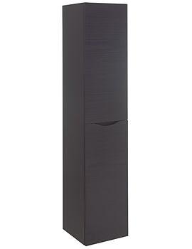 Bauhaus Glide II Wall Hung Tower Unit 1600mm Height Wenge
