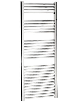 Image of Bauhaus Stream 600 x 1430mm Curved Towel Warmer Chrome - ST60X143C