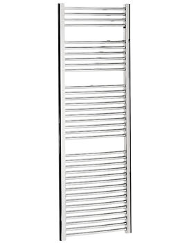 Image of Bauhaus Stream 600 x 1700mm Curved Towel Warmer Chrome - ST60X170C