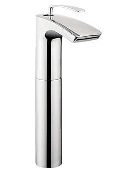 Image of Crosswater Essence Tall Monobloc Basin Mixer Tap - ES112DNC