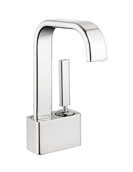 Edge Monobloc Basin Mixer Tap Chrome - EE110DNC