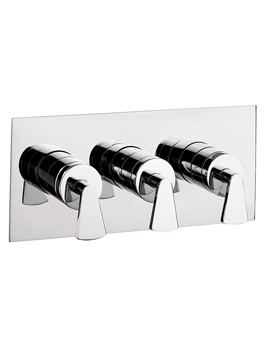 Image of Crosswater Essence Thermostatic Shower Valve 3 Control Landscape