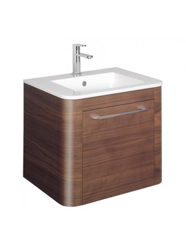 Bauhaus Celeste 600mm American Walnut Drawer Unit - CL6000DAW