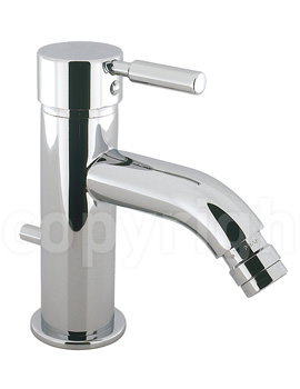 Design Monobloc Bidet Mixer Tap With Pop Up Waste