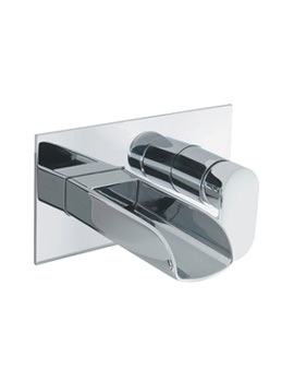 Love Me Wall Mounted 2 Hole Basin Tap - LM121WC