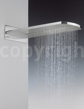Elite Rectangular Fixed Overhead Shower - FH2000UC