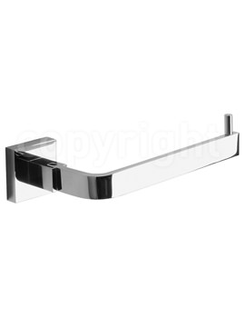 Crosswater Zeya Toilet Roll Holder Chrome - ZE029C