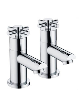 Decade Bath Taps Chrome - DX 3-4 C
