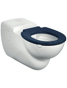 Contour 21 Rimless Wall Mounted WC Pan 750mm