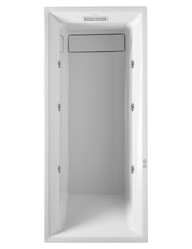 Related Duravit 2nd Floor 1700 x 750mm Built In Bath With Jet System