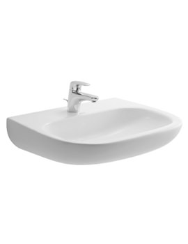 Duravit D-Code 1 Tap Hole 600 x 460mm Washbasin Med - 23116000002
