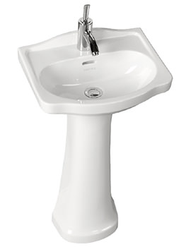 Rhyland 463 x 370mm 1 Or 2 Taphole Cloakroom Basin