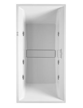Duravit 2nd Floor 1800 x 800mm Built In Bath With Jet System