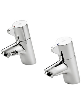 Piccolo 21 Pair Of Basin Pillar Taps - B8262AA