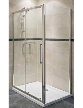 Deluxe 8 Sliding Shower Enclosure Door 1700mm - RAK8SL1700