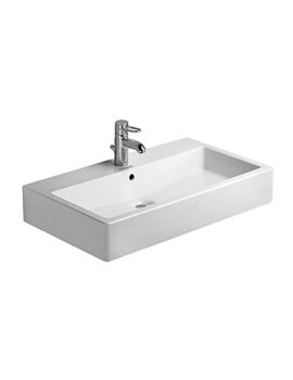 Related Duravit Vero White 700 x 470mm 1 Tap Hole Basin - 0454700000