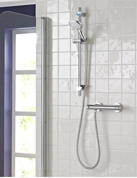 Artisan Thermostatic Bar Shower Valve With Handset - AR2 SHXMTFF C