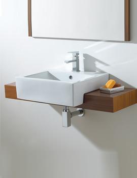 Semi Recessed Wash Basin - VB014
