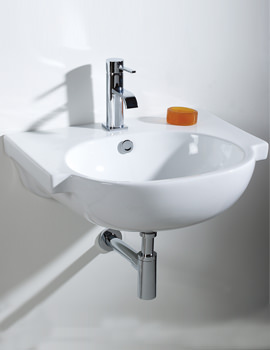 Related Phoenix Della Wall Hung Basin - DL004