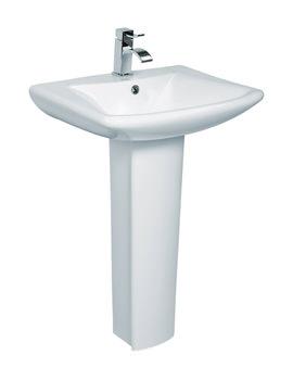 Lisa Basin And Full Pedestal 600mm - LA004-LA005