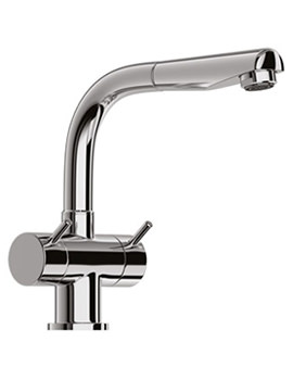 Jado Geometry Dual Lever Kitchen Sink Mixer Tap - F1258AA