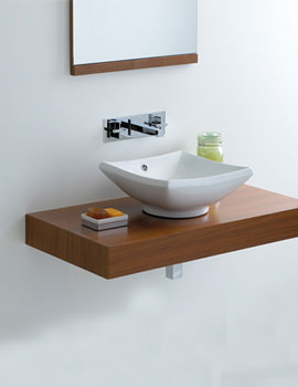Image of Phoenix Counter Top Square Shape Wash Basin - VB011